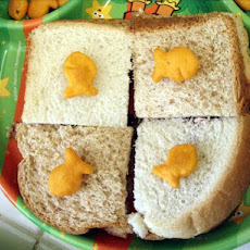 Goldfish Checkerboard Sandwiches