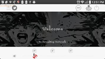 Screenshot of DroidHop Radio Hip Hop SMN