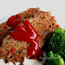 Chock Full of Veggies Meatloaf