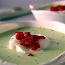 Pea and Basil Soup