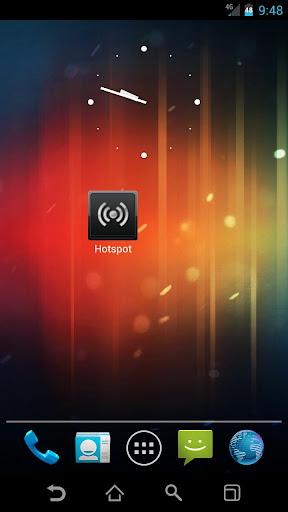 【免費工具App】BAMF HotSpot Widget-APP點子
