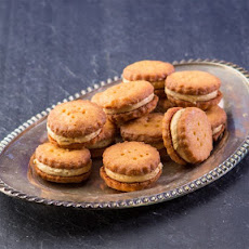 Peanut Butter Cheesy Sandwich Cookies