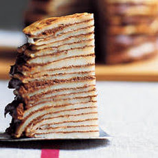 Milk Chocolate Crêpe Terrine Recipe