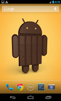 Screenshot of Android KitKat 3D