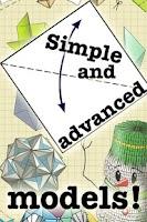 Screenshot of Origami Instructions Free