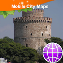 Thessaloniki Street Map icon