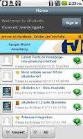 Screenshot of E-Cigarette Forum