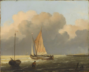 RIJKS: Ludolf Bakhuysen: painting 1697