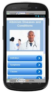Albinism Disease & Symptoms - screenshot
