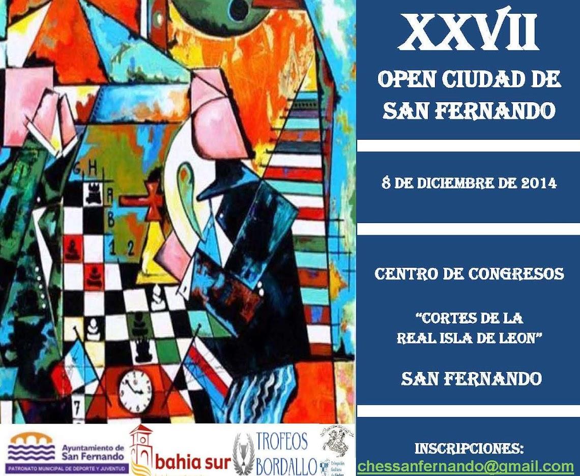 XXVII OPEN CIUDAD DE SAN FERNANDO