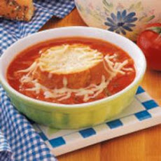 French Onion Tomato Soup