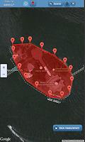 Screenshot of Free Maps Ruler