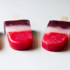 Berry Firecracker Popsicles
