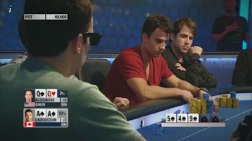 Screenshot of PokerStars TV