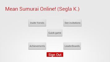 Screenshot of Mean Sumurai - Mental Math