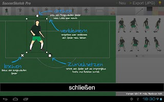 Screenshot of SoccerSketch