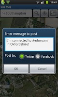 Screenshot of eduroam Companion