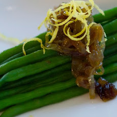Haricot Vert with Caramelized Shallots