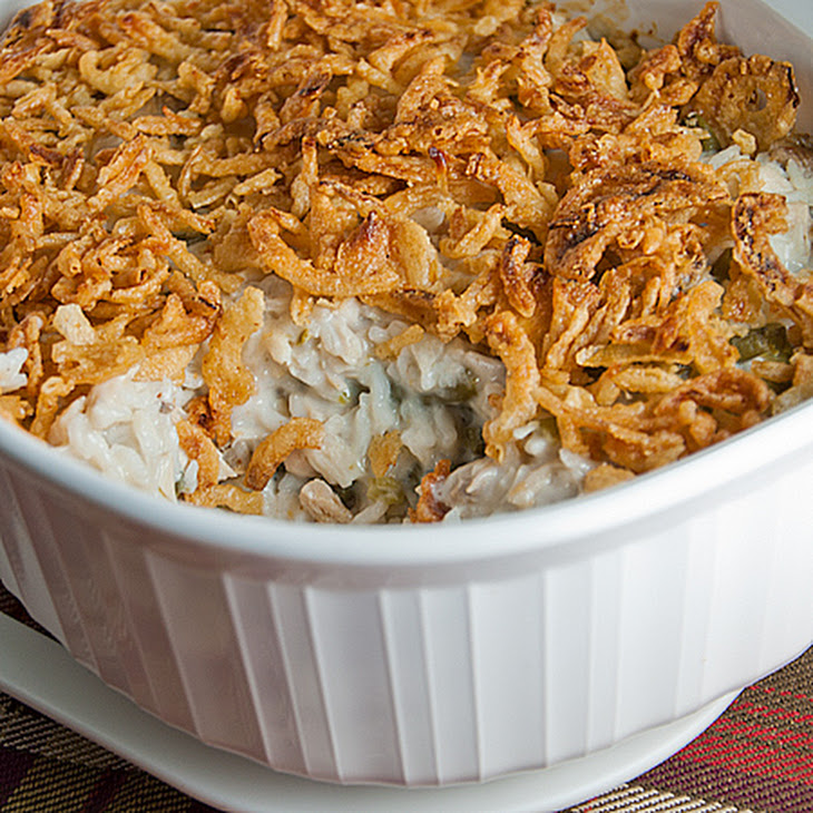 Turkey (or Chicken) and Green Bean Casserole Recipe | Yummly