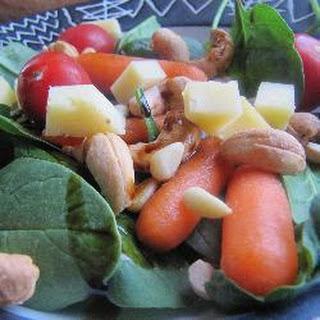 Spinach Cashew Salad Recipes