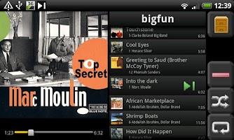 Screenshot of UPnPlay