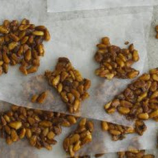 Salted Pine Nut Toffee