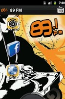 Screenshot of Radio 89FM