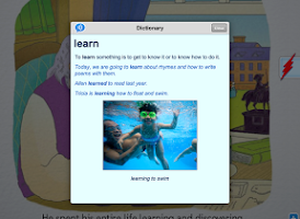 Screenshot of Scholastic Storia