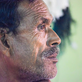 Hope by Abhijit Roy - People Portraits of Men ( #portrait, #hunger, #hope, #human, #living,  )