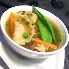 Quick Pot Sticker Soup