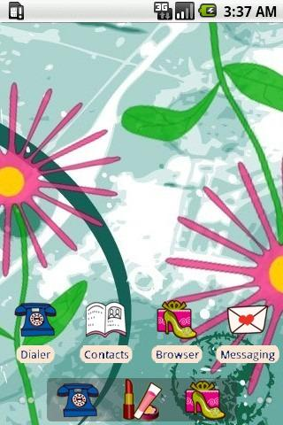 Flower Pattern [SQTheme] ADW