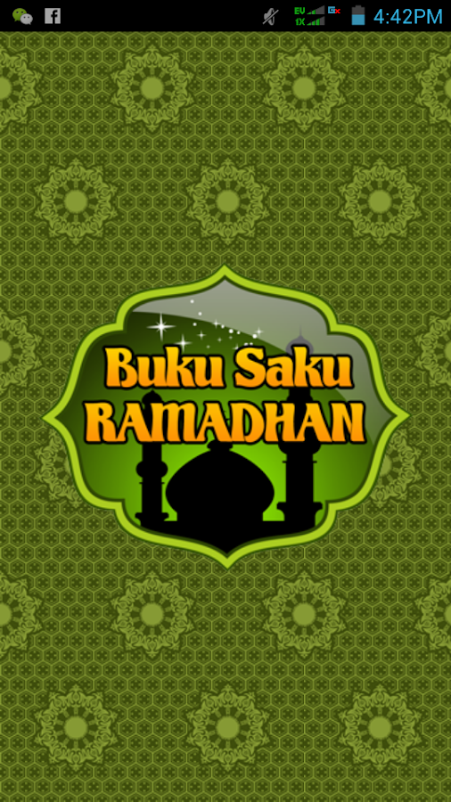 Buku Saku Ramadhan Screendshot 1