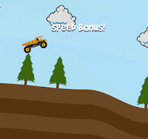 Screenshot of Hill Racing Endless