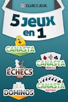 Screenshot of ClubDeJeux 5-en-1