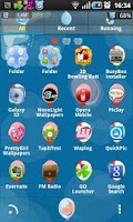 Screenshot of Ballon Go Launcher Ex Theme