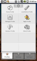 Screenshot of Toggle Settings|Profiles Lite