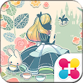 Free Cute Theme-Alice in Candy-land APK for Windows 8