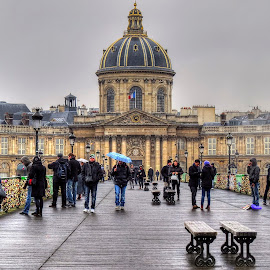 Pont des Arts by Rubens Campos - Landscapes Travel ( paris, europe, frança, 2013, france, europa, pont des arts )