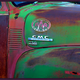 Antique GMC Truck Close Up by Wendy Thorson - Artistic Objects Antiques