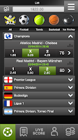 Screenshot of Live Score 1000+ Leagues