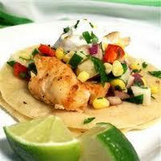 Grilled Tilapia Fish Tacos With Adobo Sauce
