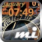 World Clock Live Mi icon
