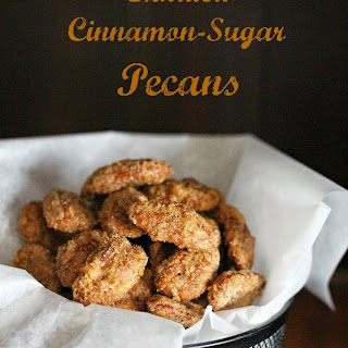 Candied Cinnamon-Sugar Pecans