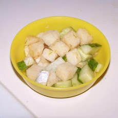 Jicama Salad With Cucumber and Lime
