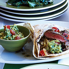 Steak Fajitas with Fresh Lime