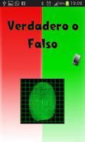 Screenshot of Detector de menterias