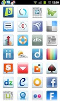 Screenshot of Icon App 2 Folder Organizer