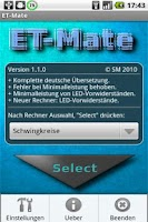 Screenshot of ET-Mate