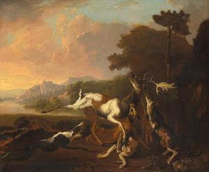 RIJKS: Abraham Daniëlsz. Hondius: painting 1695