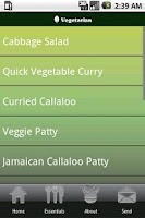 Screenshot of Jamaican Recipes